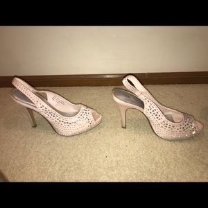 Lulu Townsend pink heels